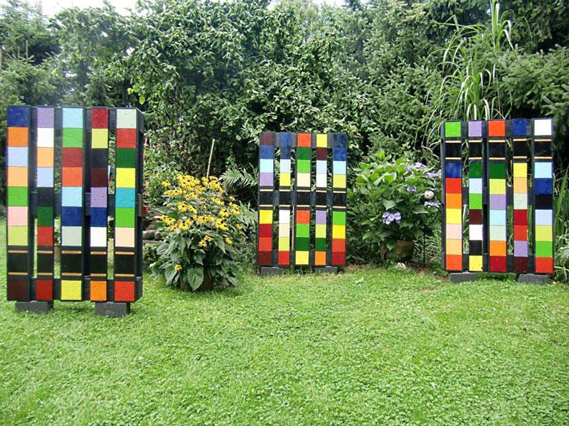 Farbenfroh-Ensemble