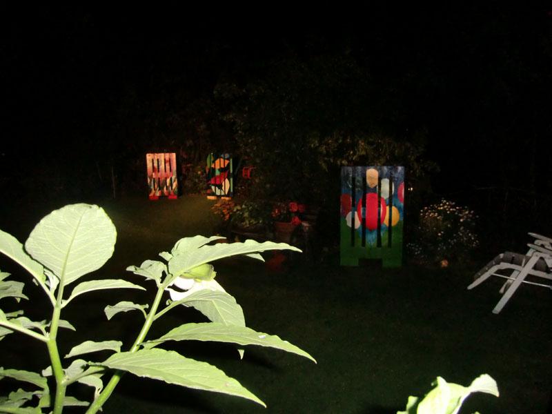 Arrangemente bei Nacht
